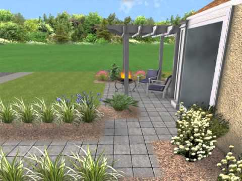 Front Yard Landscape Design Orlando Central Florida YouTube - Florida landscaping ideas for front yard