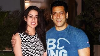 Salman Khan To Launch Saif Ali Khan's Daughter Sara Ali Khan