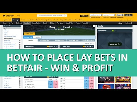 Placing lay bets on betfair trade bitcoins for litecoins