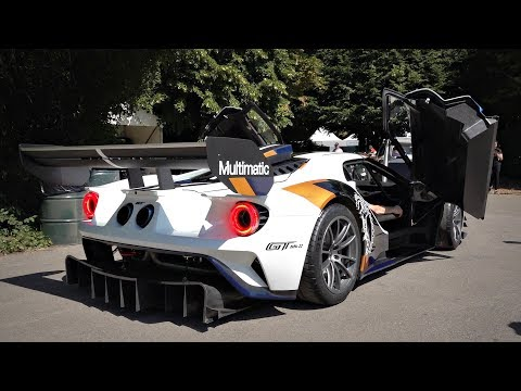 2020 Ford GT MK II with Straight Pipes LOUD Sounds | 700HP Track MONSTER!