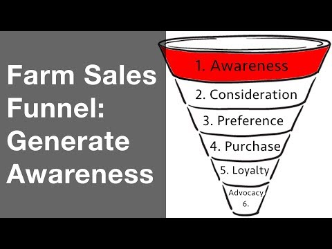 8 Farm Marketing Strategies To Generate Awareness (Sales Funnel 1 Of 6)