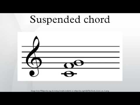 Suspended chord