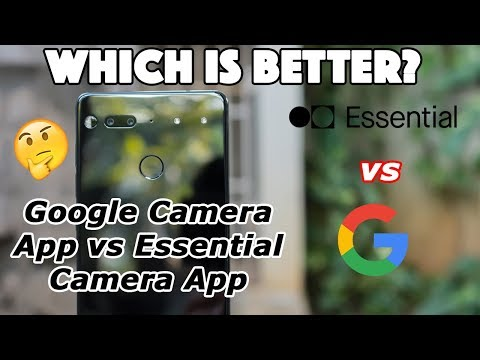 Google Camera vs Essential Camera TEST - DOES SIDELOADING WORK? - Photos & Videos