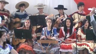 Cueca Llorando ausencia, Maihuen, Grupo Folklórico Liceo Bicentenario Los Ángeles, 2014