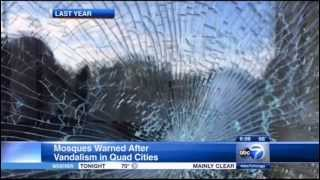 Video: CAIR-Chicago Asks Mosques to Be on Alert After Vandalism