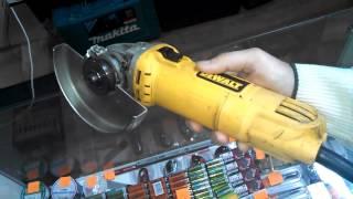 Угловая шлифмашина DeWalt D28136. Купить инструмент(Угловая шлифмашина DeWalt D28136 в отличном рабочем состоянии. Цена: 980 грн. Сайт: http://prof-master.net/ Доставка электроин..., 2015-02-15T20:32:47.000Z)