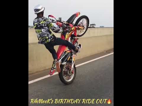 Ghana BikeLife ( RihMeeK's Birthday RideOut )