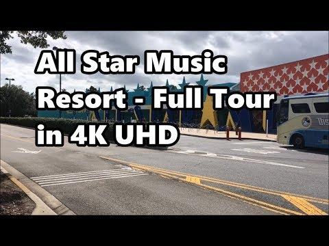 Disney's All Star Music Resort | Full Tour in 4K UHD | Walt Disney World