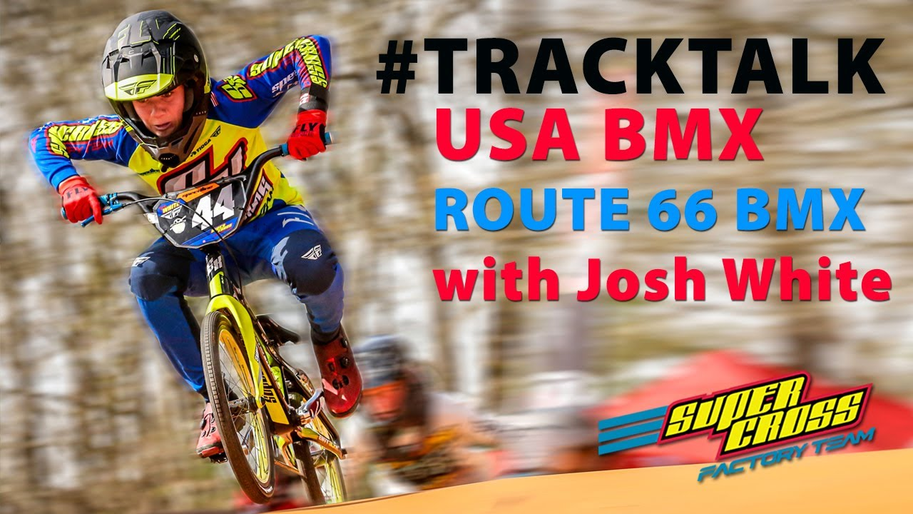 USA BMX #tracktalk at Kingman BMX with factory rider Josh White