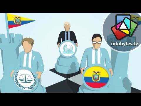 The Wikileaks, Julian Assange Diplomatic Standoff -- Animated