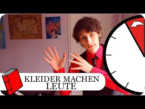 Kleider machen Leute YouTube Hörbuch Trailer auf Deutsch