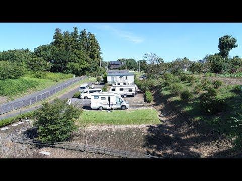 【車中泊・ドローン空撮】キャンピングカーでオートキャンプ/フォンテーヌの森オートキャンプ場