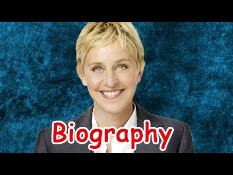 ellen degeneres biography Know everything abou ellen degeneres,from her birth to becoming the famous host, know everything about ellen degeneres biography.