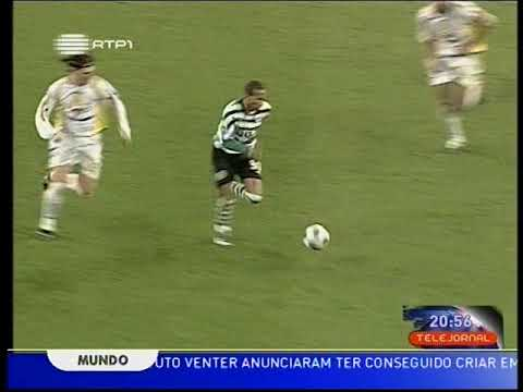 Sporting - 3 x Beira Mar - 0 de 2007/2008 Fase de Grupos - Taça da Liga