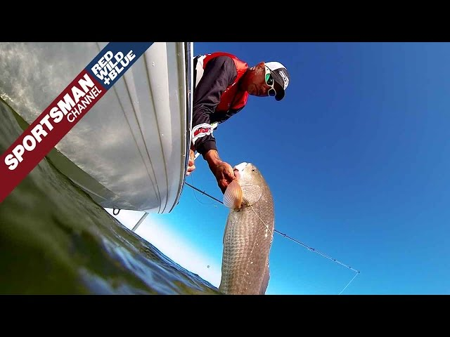 Targeting Large Schools of Redfish in West Central Florida