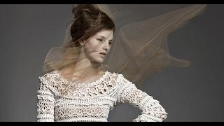 Платье крючком ОЛИВИЯ от Ванессы Монторо.