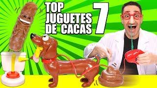 TOP 7 JUGUETES DE CACAS | Juguetes Curiosos con Mike