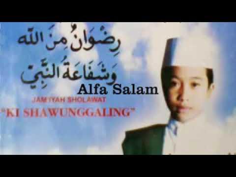 Sholawat Ki Sawunggaling Alfa Salam Menggetarkan Hati