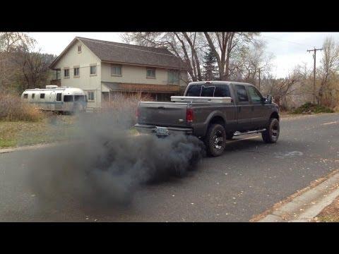 73 Powerstroke Rolling Coal
