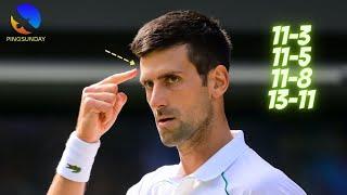 Когда все лучшие теннисисты предпочитают играть в настольный теннис