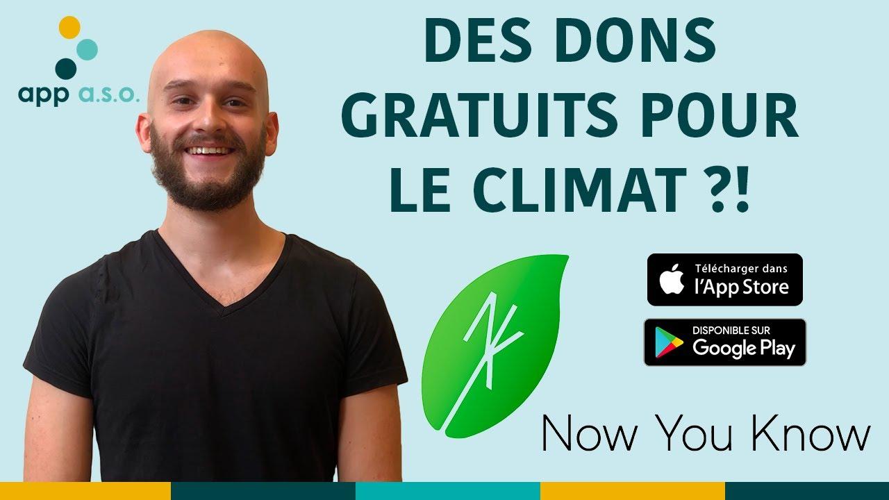 Digitalk - Now You Know : l'appli mobile pour lutter contre les problèmes climatiques