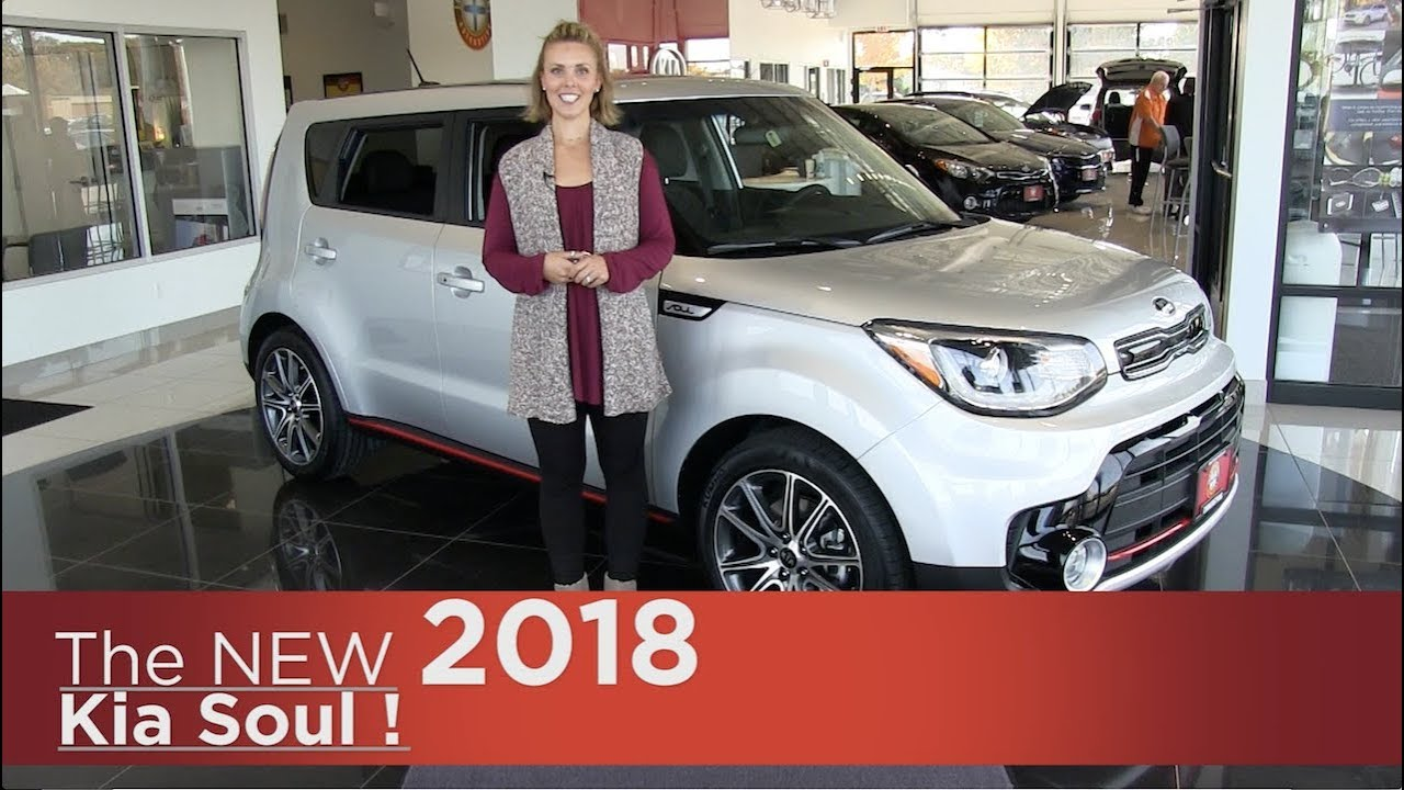 New 2018 Kia Soul ! (Exclaim) Turbo   Elk River, Brooklyn Park, Mpls, St  Cloud, MN | Walk Around