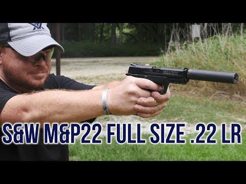 Smith & Wesson M&P22 Full Size .22 lr Pistol