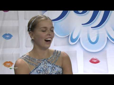 Skate America GP 2015 Ladies Free Skating 50 fps