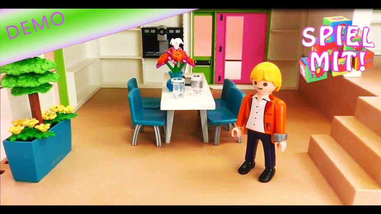 Playmobil Luxusvilla. Interesting Gebraucht Playmobil Moderne ...