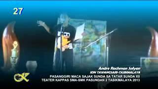 Andre Rachman Sofyan-Pasanggiri Maca Sajak Sunda XII 2013-SMA Pasundan 2 Tasikmalaya