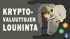 Kryptovaluuttojen louhinta