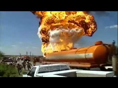 Oil Tank Explosion