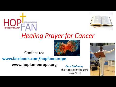 Healing Prayer for Cancer