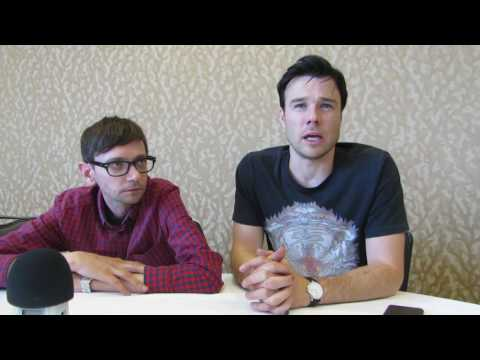 SDCC 2016: Man in the High Castle DJ Qualls and Rupert Evans