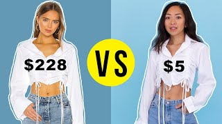 Making a $228 Shirt For only $5 | DIY vs BUY