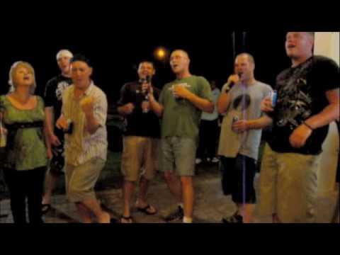Bamboo Willies Karaoke night, 19 Feb 2010