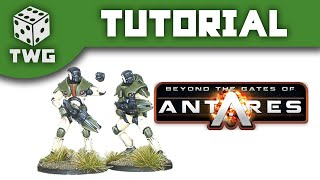 Gates of Antares Tutorial: How To Paint Concord
