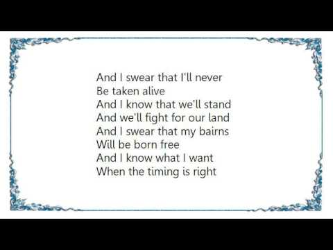 Iron Maiden - The Clansman Live Lyrics