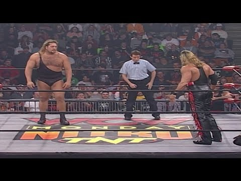 Kevin Nash w/Scott Hall (nWo Wolfpac Elite) vs. The Giant (nWo B&W) Battle of the GIANTS
