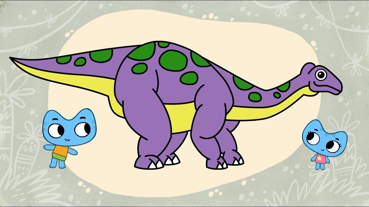 """Котики, вперед! - Раскраска """"Динозавры и другие древние ..."""