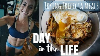 DAY IN THE LIFE | Trying Trifecta Meals For The First Time