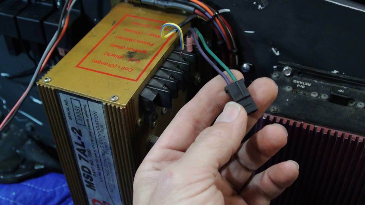 wiring an older msd 8972 timing retard box [ 1280 x 720 Pixel ]