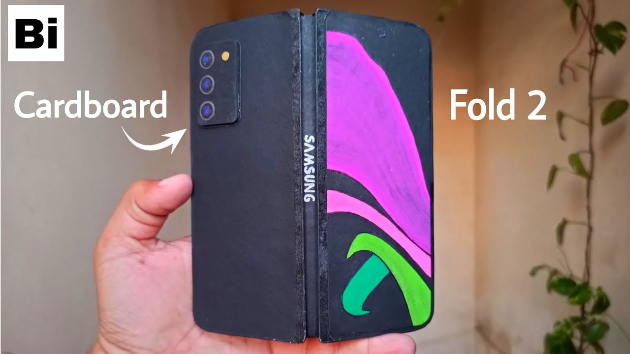 Samsung Galaxy Z Fold 2 From Cardboard | How To Make