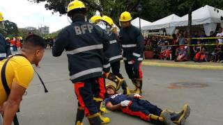 Rescue Transfer Relay - 2nd BFP National Fire Olympics
