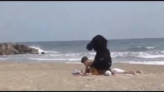 Сексна на пляж)))