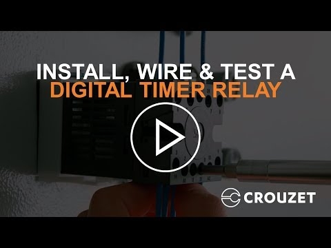 How to Install, Wire & Test a Digital Timer Relay (Syr-line) thumbnail