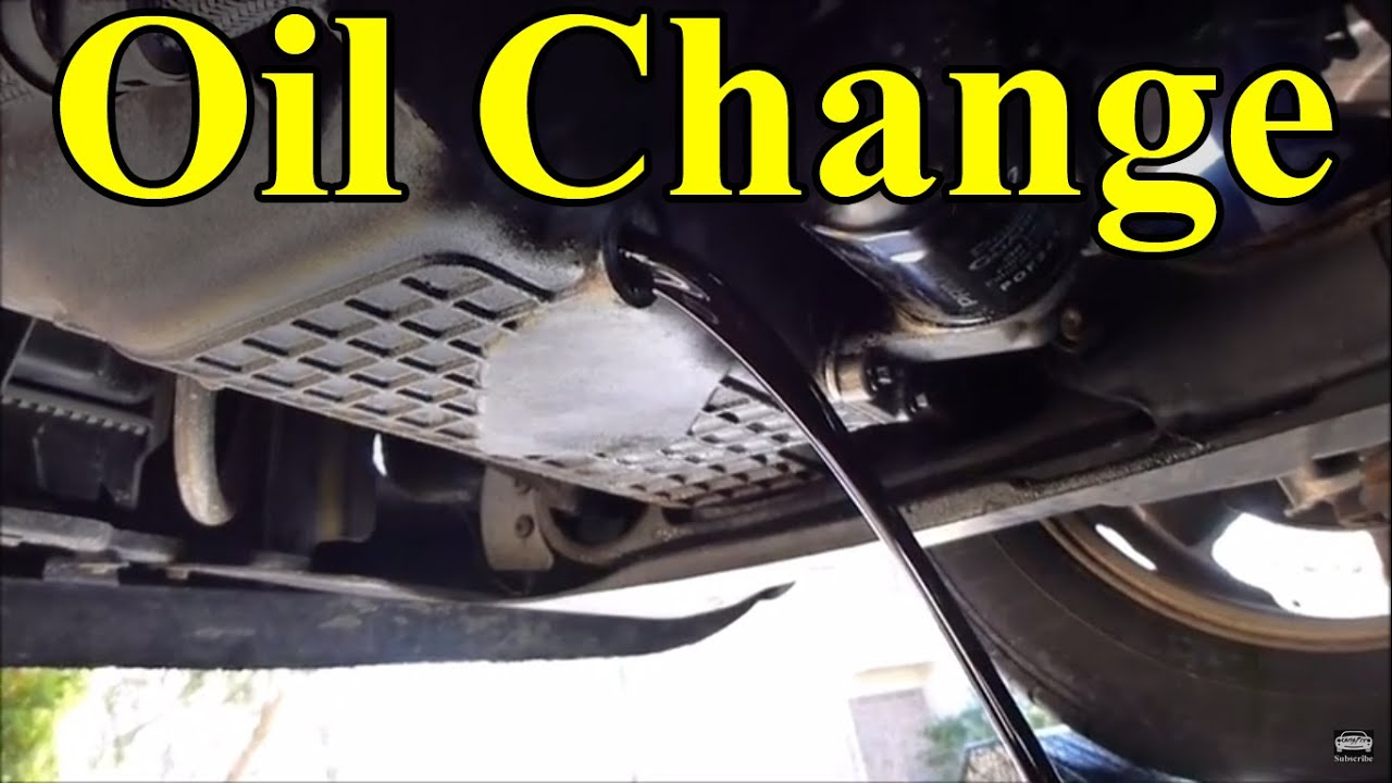 how to change oil on car
