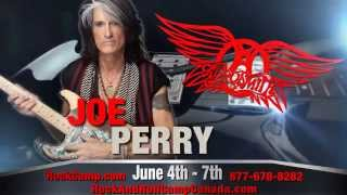 Joe Perry Rock n Roll Fantasy Camp | Toronto
