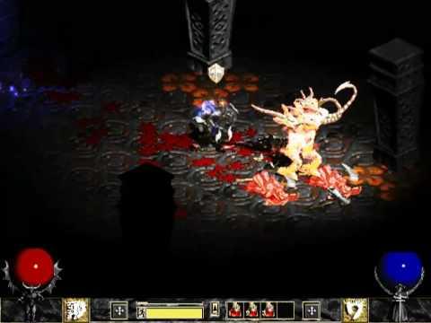 Diablo 2 - Back to Hellfire - warrior gameplay - YouTube