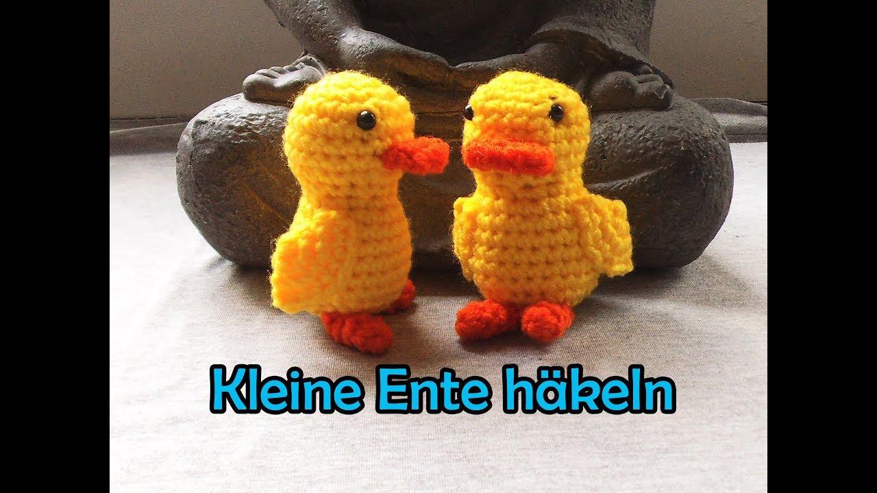 Kleine Ente Häkeln Romy Fischer Häkelanleitung Youtube